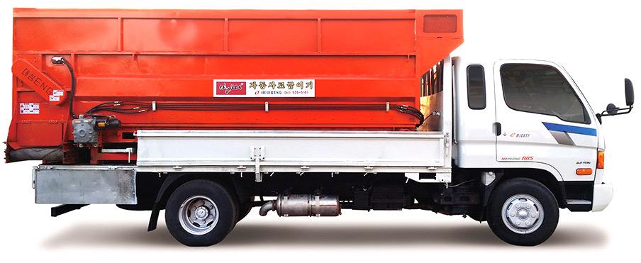차량탑재형 사료공급기